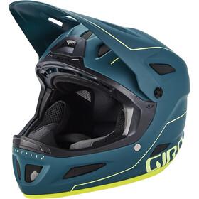 Giro Disciple MIPS Casco, verde/amarillo
